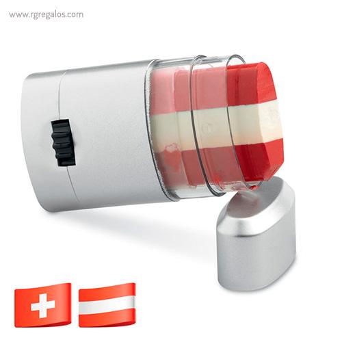 Pinturas bandera países Suiza - RG regalos publicitarios