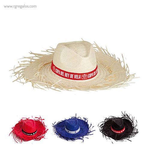 Sombrero con flecos filagarchados - RG regalos publicitarios