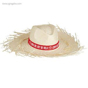 Sombrero con flecos filagarchados blanco - RG regalos publicitarios