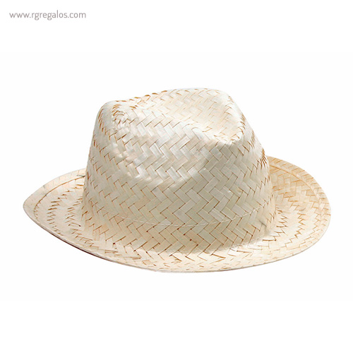 Sombrero de paja publicitario blanco - RG regalos publicitarios