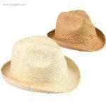 Sombrero de papel paja flexible colores - RG regalos publicitarios