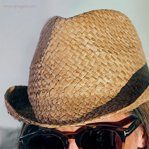 Sombrero de papel paja flexible modelo - RG regalos publicitarios