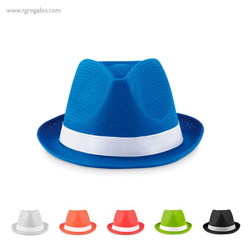 Sombrero de poliéster de colores - RG regalos publicitarios