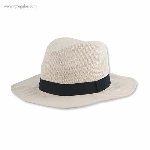 Sombrero fabricado en papel blanco - RG regalos publicitarios