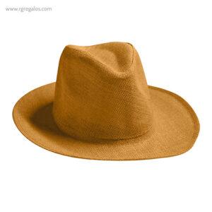 Sombrero fabricado en papel camel - RG regalos publicitarios