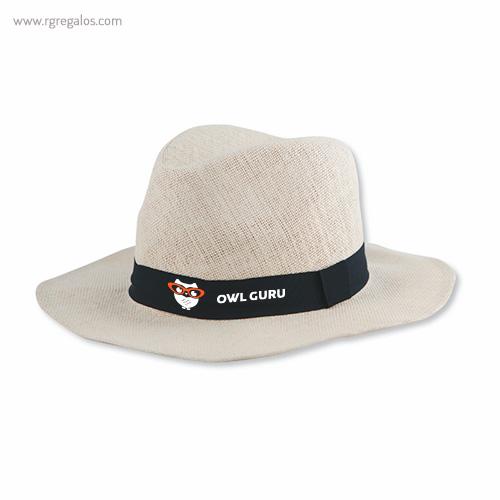Sombrero fabricado en papel logotipo - RG regalos publicitarios
