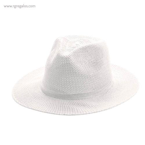 Sombrero sintético publicitario blanco - RG regalos publicitarios