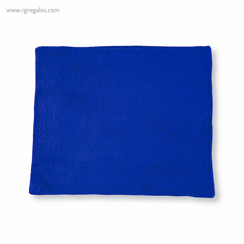 Toalla con bolsa en microfibra azul - RG regalos publicitarios