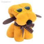 Toalla en forma de perro amarilla - RG regalos publicitarios