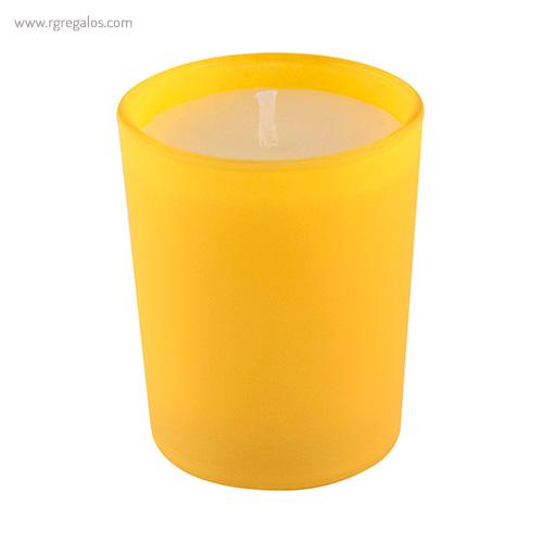 Vela de cristal amarilla - RG regalos publicitarios