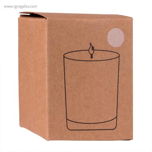 Vela de cristal caja - RG regalos publicitarios
