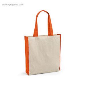 Bolsa-compra-algodón-naranja-RG-regalos-empresa