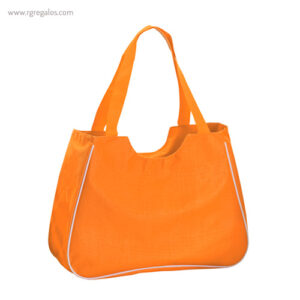 Bolsa de playa con neceser naranja - RG regalos publicitarios