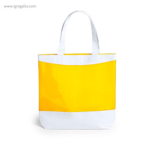 Bolsa de playa en PVC amarilla - RG regalos publicitarios