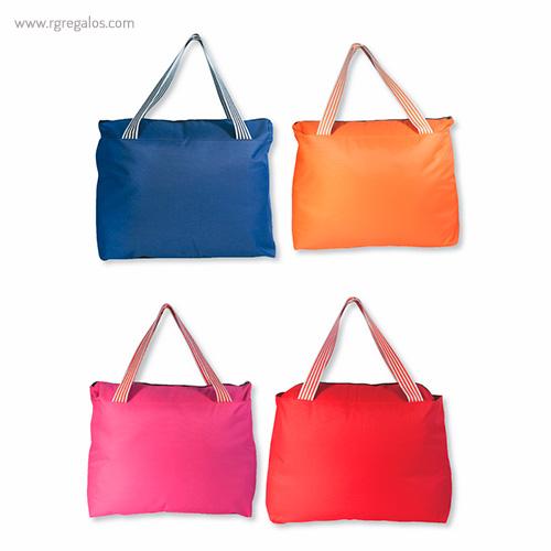 Bolsa de playa en poliéster colores - RG regalos publicitarios