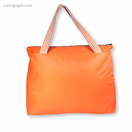 Bolsa de playa en poliéster naranja - RG regalos publicitarios