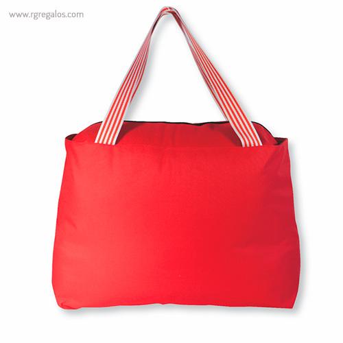 Bolsa de playa en poliéster rojo - RG regalos publicitarios