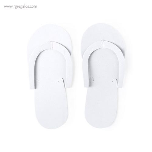Chancla de EVA colores blanca - RG regalos publicitarios