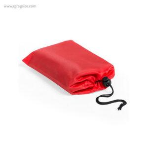 Esterilla picnic en poliéster rojo - RG regalos publicitarios