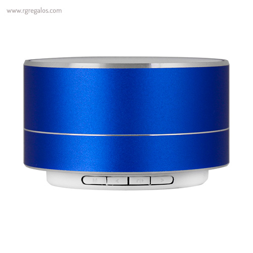 Altavoz inalámbrico brillante azul - RG regalos publicitarios