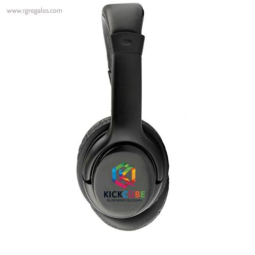 Auriculares inalámbricos 4.0 logo - RG regalos publicitarios