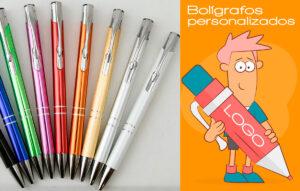 Bolígrafos personalizados - RG regalos publicitarios