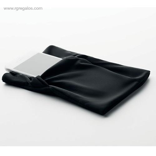Brazalete deportivo móvil negro detalle - RG regalos publicitarios