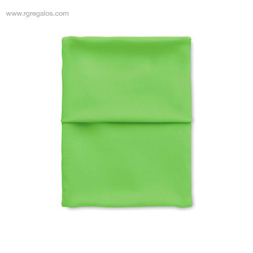 Brazalete deportivo móvil negro verde - RG regalos de empresa