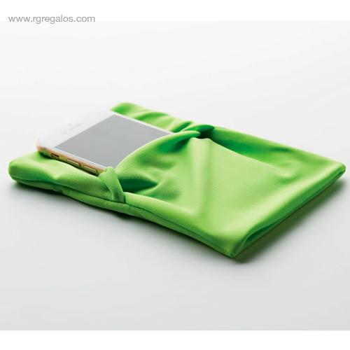 Brazalete deportivo móvil verde - RG regalos publicitarios