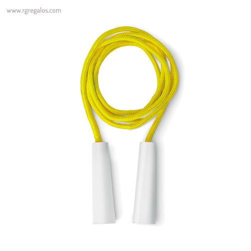 Cuerda para saltar infantil amarilla - RG regalos publicitarios