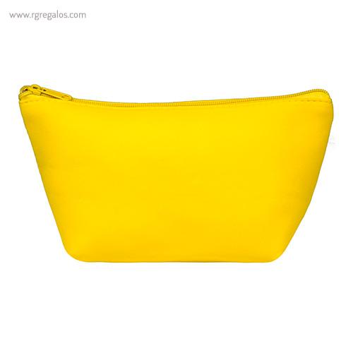 Neceser de neopreno amarillo - RG regalos publicitarios