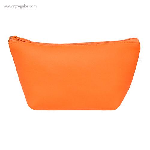 Neceser de neopreno naranja - RG regalos publicitarios