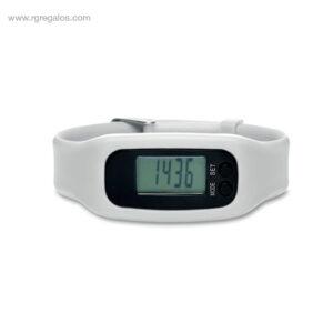 Pulsera deportiva barata blanca - RG regalos personalizados