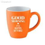 Taza cerámica colores 300 ml logotipo - RG regalos publicitarios