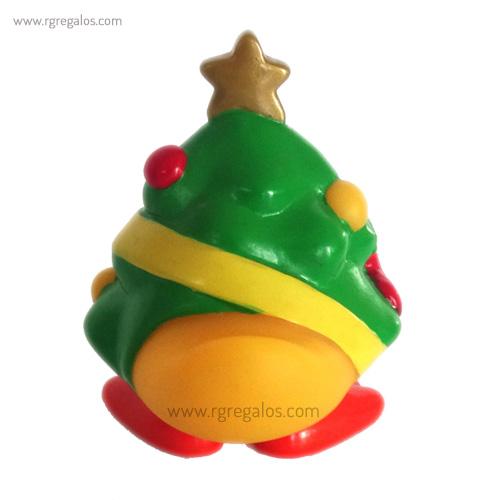 Patito de goma árbol navidad cola - RG regalos publicitarios