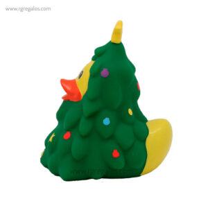 Patito de goma árbol navideño perfil - RG regalos publicitarios