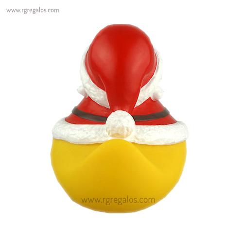 Patito de goma Papá Noel cola - RG regalos publicitarios