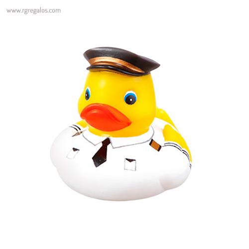 Patito de goma piloto avión - RG regalos publicitarios