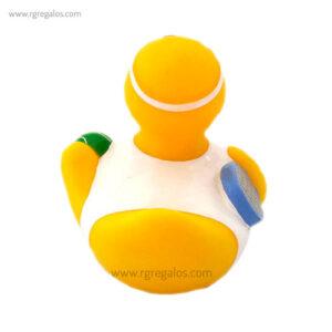 Patito de goma tenista cola - RG regalos publicitarios