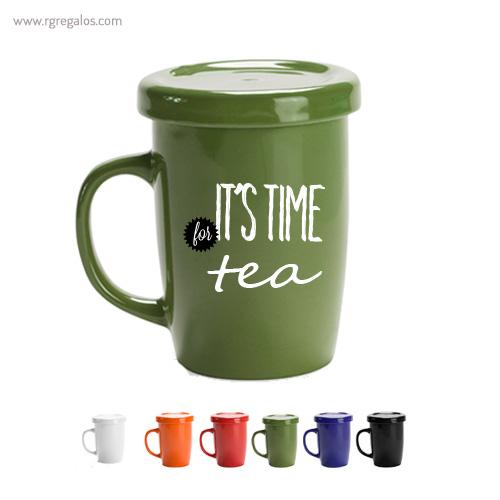 Taza de cerámica para te - RG regalos publicitarios