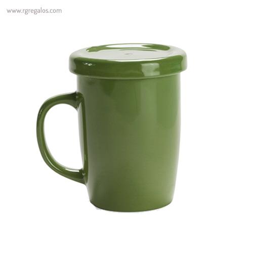 Taza de cerámica para te verde - RG regalos publicitarios