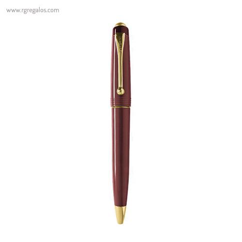 Bolígrafo Borghini plástico V100 classic burdeos - RG regalos publicitarios