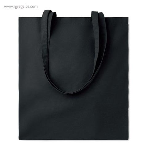 Bolsa 100% algodón colores negra - RG regalos de empresa