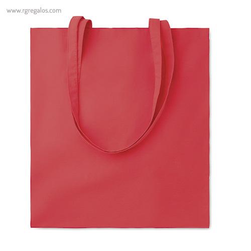 Bolsa 100% algodón colores roja - RG regalos de empresa