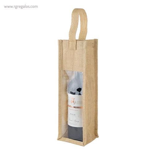 Bolsa de yute para vino detalle _ Rg regalos publicitarios (1)