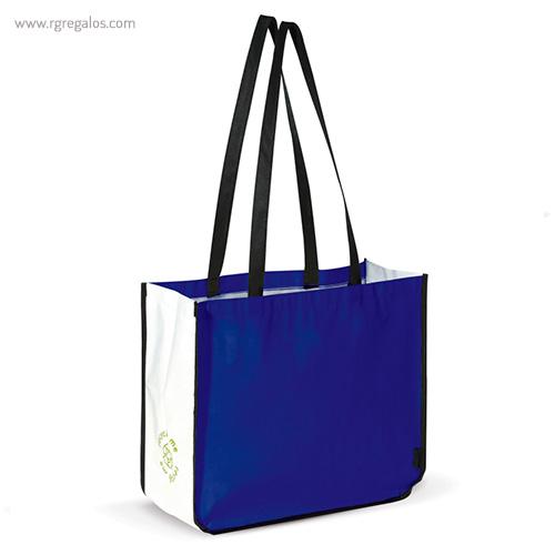 Bolsa grande de PP Woven azul - RG regalos publicitarios