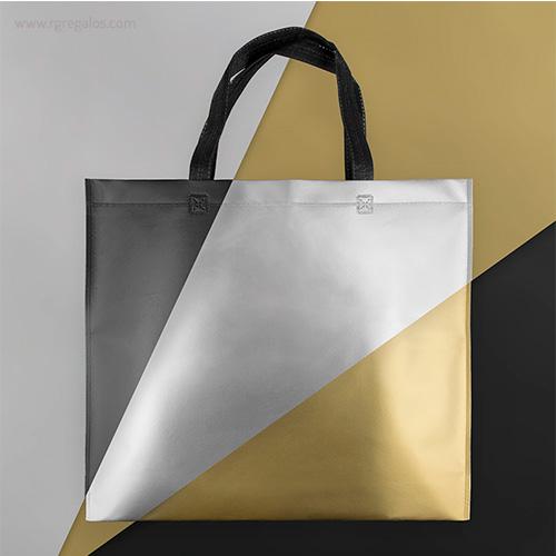 Bolsa metalizada mate imagen - RG regalos publicitarios