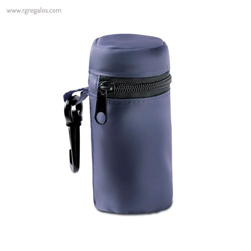 Bolsa plegable con funda azul - RG regalos publicitarios