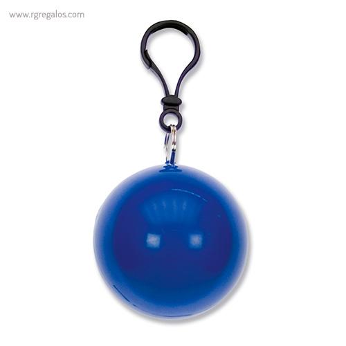 Poncho lluvia personalizado azul - RG regalos publicitarios