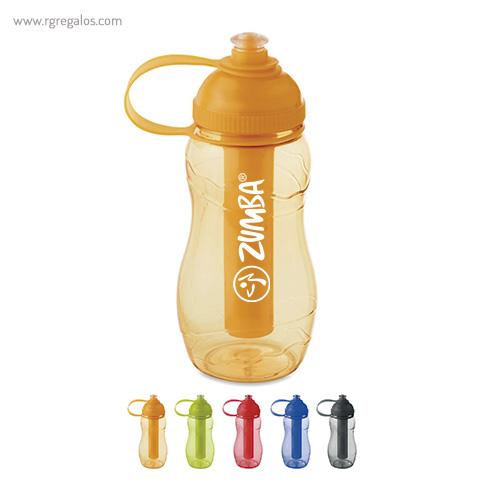 Botella de AS con porta hielos - RG regalos publicitarios